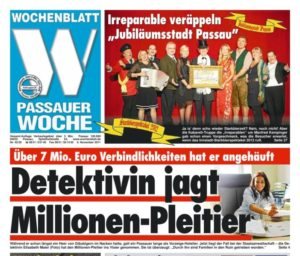 SHM Inkasso - Passauer Woche - Presse